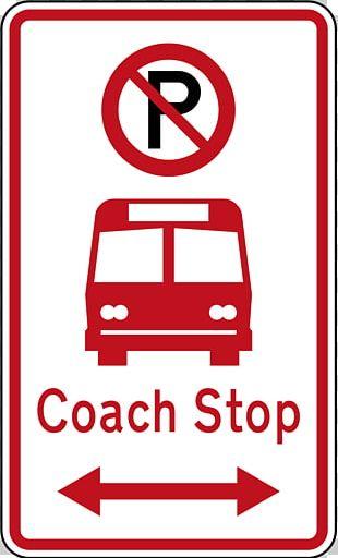 Bus Stop Parking Car Park Stock Photography PNG