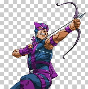 Clint Barton Black Widow Cartoon Marvel Comics PNG