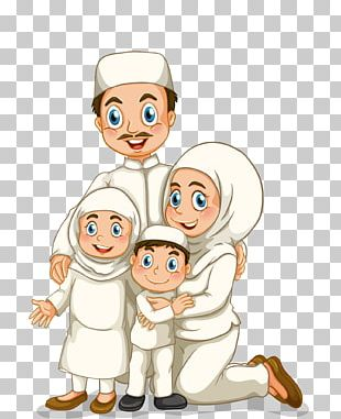Family Stock Photography Muslim Illustration PNG