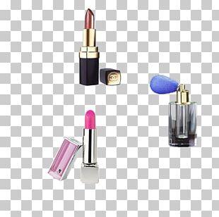 Lipstick Cosmetics Face Powder Make-up PNG