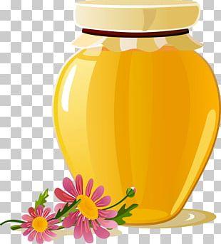 Breakfast Honey Bee Honey Bee PNG