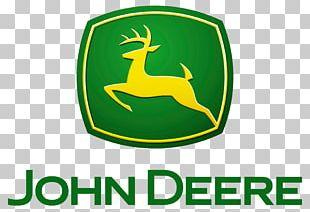 John Deere Architectural Engineering Heavy Equipment Tractor Logo PNG