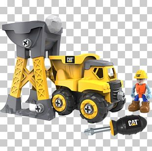 Caterpillar Inc. Toy Heavy Machinery Architectural Engineering Dump Truck PNG