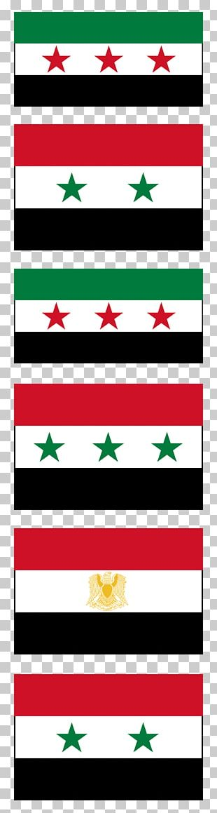 Flag Of Syria Valley Of Tears Federation Of Arab Republics PNG
