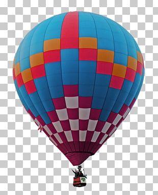 Hot Air Balloon Flight Photography PNG