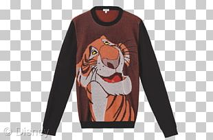 The Jungle Book Shere Khan T-shirt Sweater Kenzo PNG
