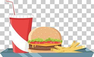 Hamburger Cheeseburger Whopper Hot Dog French Fries PNG