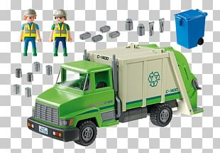Car Playmobil Recycling Garbage Truck PNG