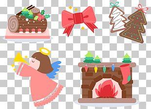 Christmas Cartoon Patterns PNG