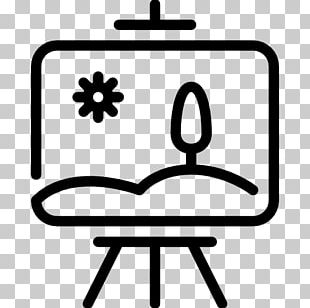 Painting Canvas Art Computer Icons Easel PNG