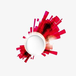 Red Light Effect Background PNG