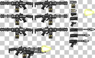 Weapon Firearm Machine Gun Gatling Gun Minigun PNG