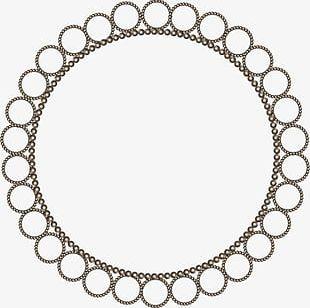 Metal Circle Pattern PNG