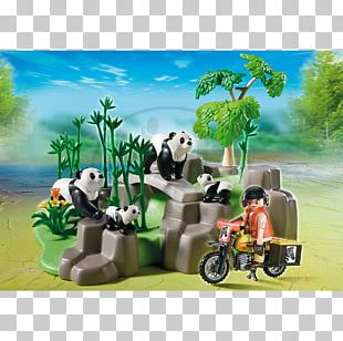 Playmobil Giant Panda Toy Amazon.com Construction Set PNG