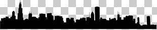 Chicago Skyline Silhouette PNG