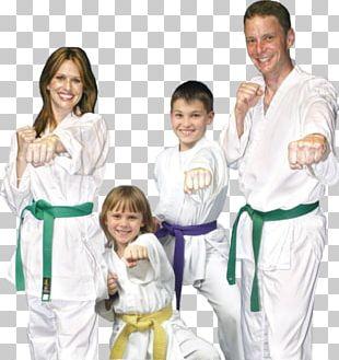 Karate Dobok Taekwondo Martial Arts Family PNG