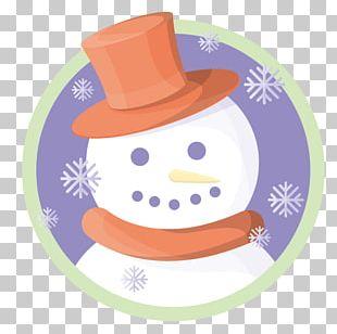 Snowman Christmas Snowflake PNG