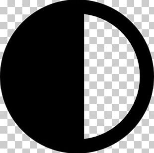 Monochrome Photography Circle Symbol Crescent PNG