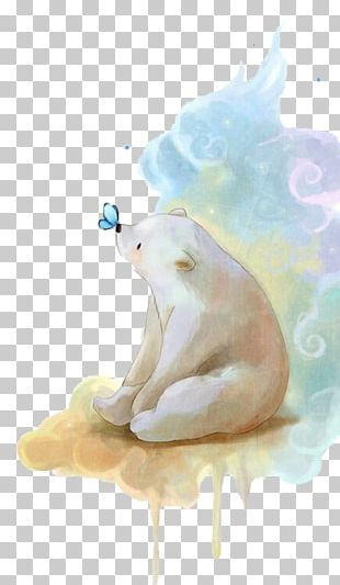 Baby Polar Bears Drawing PNG