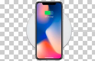 Apple IPhone 8 Plus IPhone X Battery Charger IPhone 4S Inductive Charging PNG
