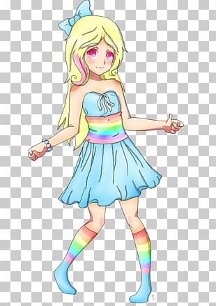 Fairy Human Hair Color Costume PNG