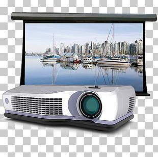 Professional Audiovisual Industry Multimedia Projectors Television Antenna PNG