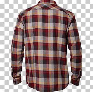 Sleeve Shirt Flannel Tartan Check PNG