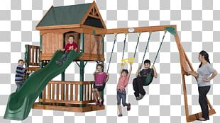 Swing Playground Slide Child Outdoor Playset PNG