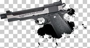 Trigger .22 Winchester Magnum Rimfire Rock Island Firearm Gun PNG