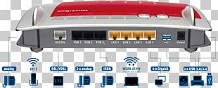 Fritz!Box VDSL Router IEEE 802.11ac AVM GmbH PNG