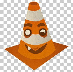 Orange Cone PNG