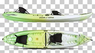 Kayak Fishing Paddle Sit On Top Canoe PNG