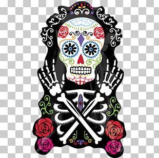 La Calavera Catrina Day Of The Dead Halloween Death PNG