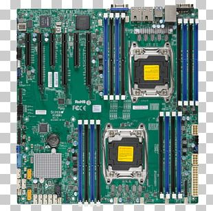 LGA 2011 PCI Express Motherboard DDR4 SDRAM Supermicro X10DRi PNG