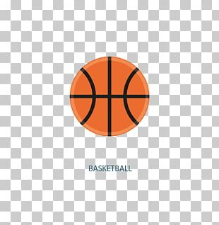 Basketball Sports Equipment Flat Design PNG