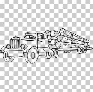 Car Logging Truck Pickup Truck Mack Trucks PNG