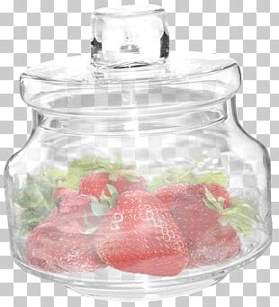 Bottle Strawberry Fruit Auglis Aedmaasikas PNG