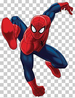 Marvel Universe Ultimate Spider-Man Absorbing Man Iron Man PNG