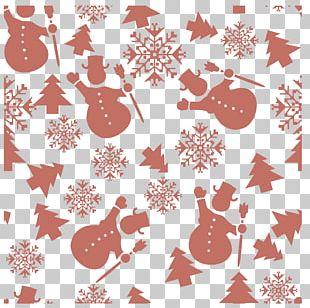 Snowman Snowflake PNG