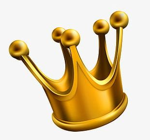 Gold Crown Big PNG