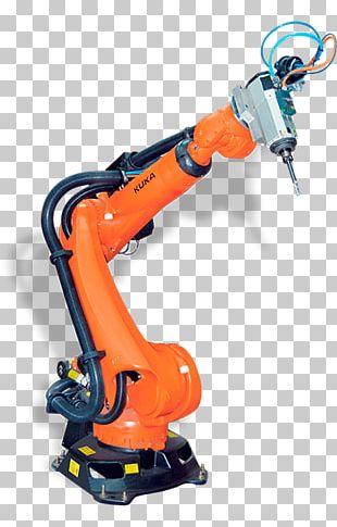 Robotics KUKA Robotic Arm Industrial Robot PNG