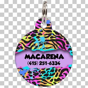Keeper Tiger Christmas Ornament Pink M Brouillon PNG