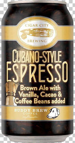 Beer Cigar City Brewing Company Cuban Espresso Coffee PNG