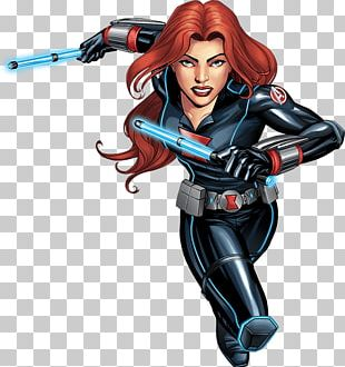 Black Widow Iron Man Vision Thor Captain America PNG