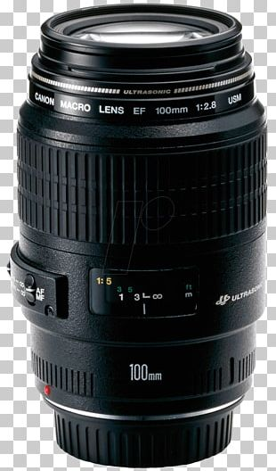 Canon EF Lens Mount Canon EF 100mm F/2.8 Macro USM Canon EF 100mm Lens Macro Photography PNG