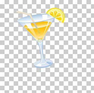 Wine Cocktail Martini Harvey Wallbanger Cocktail Garnish PNG