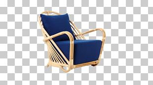 Egg Wing Chair Wicker Rattan PNG