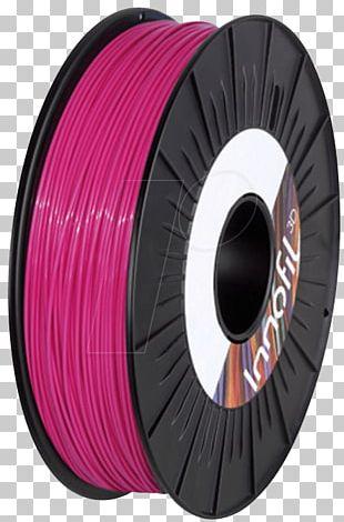 Polylactic Acid 3D Printing Filament Plastic Green PNG