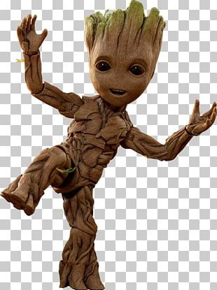 Baby Groot Guardians Of The Galaxy Vol. 2 Rocket Raccoon Sideshow Collectibles PNG