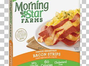 Veggie Burger Bacon Breakfast MorningStar Farms Spicy Black Bean Burger PNG